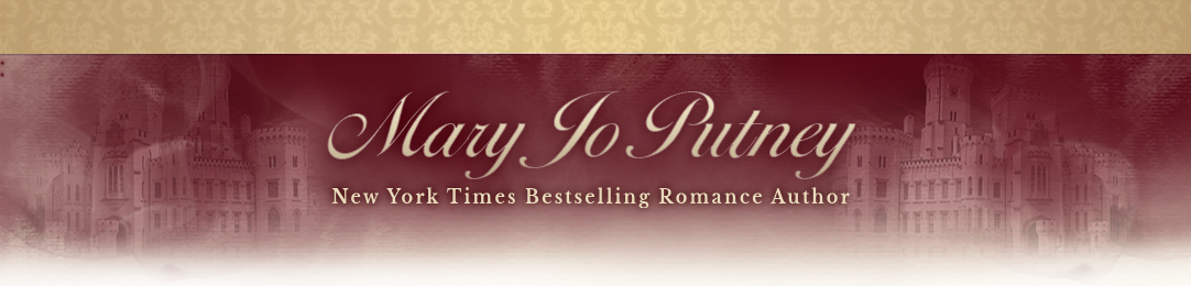 Historical romance author website
